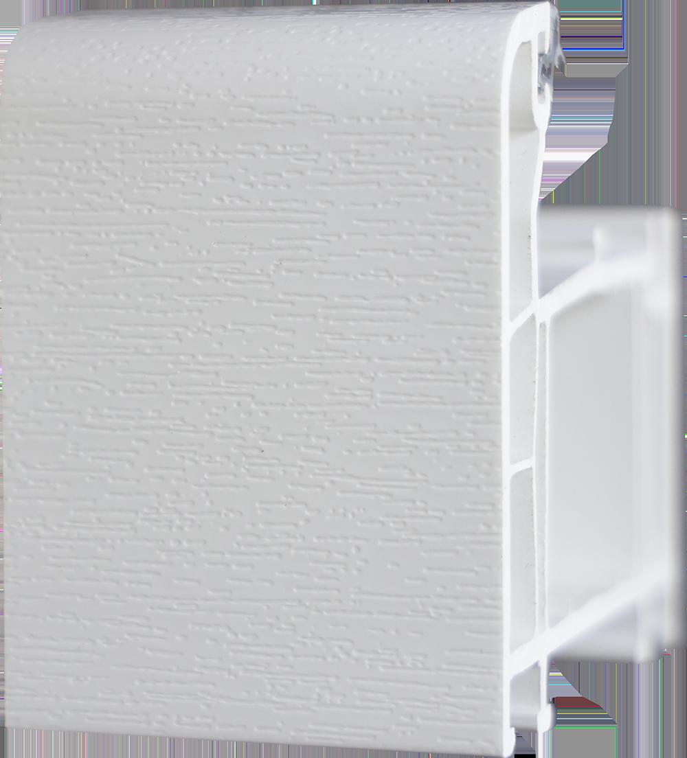 Premium white window border